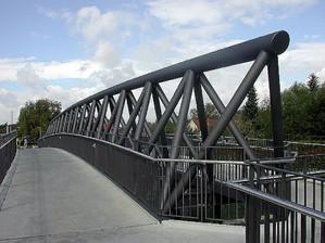 Brückenbau Donaueschingen