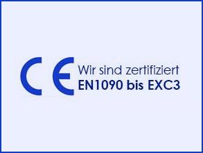 Zertifizierung CE EN 1090 bis EXC3 Stadler Stahlbau