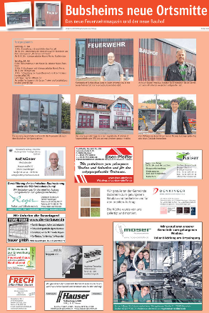 Bubsheims neue Ortsmitte