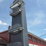 Feuerwehrgerätehaus Spaichingen mit Stadler Stahlbau